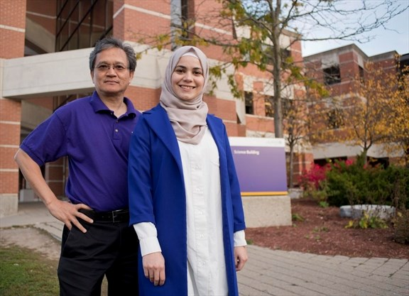 Laurier prof supports Syrian student as former refugee