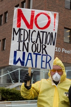 Water Fluoride Protest