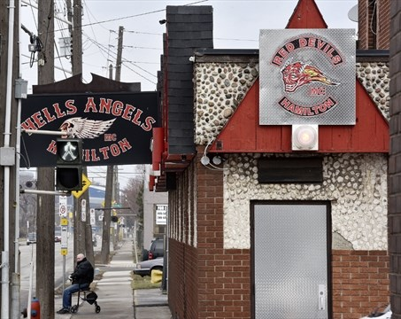 $75,000 damage in overnight fire at old Hells Angel's