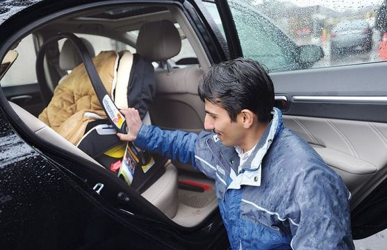 Car Seat Inspection Helps Keep Your Kids Safe