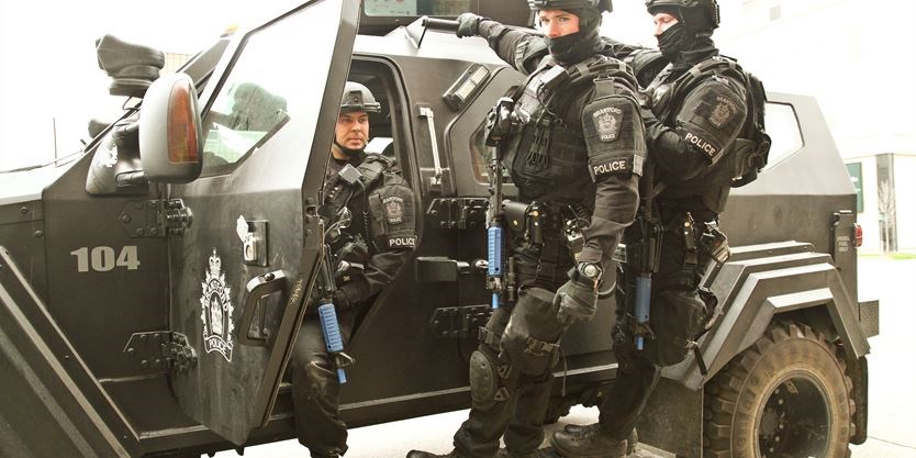 Tactical unit trains in active killer scenario