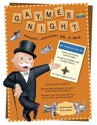 Family and Friends Gaymes Night on January 25,2019