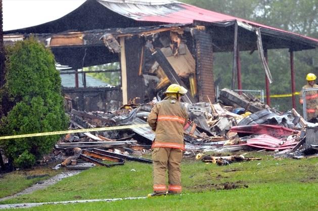 Fire destroys home at Stop 48 Go-Kart near Kirkfield