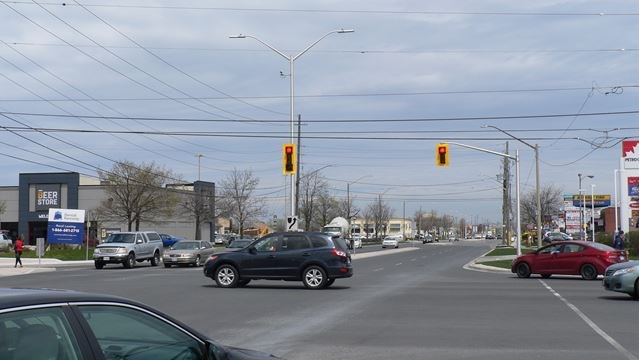 Queenston And Centennial Parkway Intersection