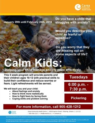 Help Your Child Manage Anxiety >> Calm Kids Helping Your Child Manage Anxiety More Effectively On