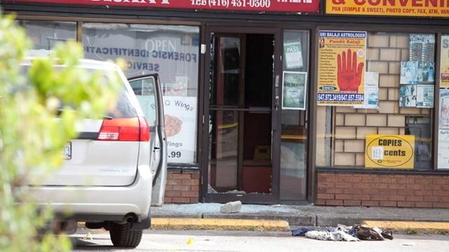 Afghanistan Newcomer Killed Pizza Store Owner Severely