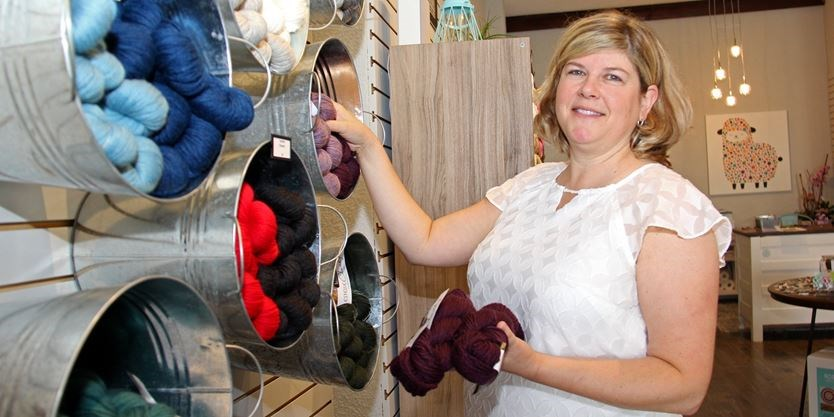 New Midland Business Twist Yarn Offers Classes And Socials Simcoe