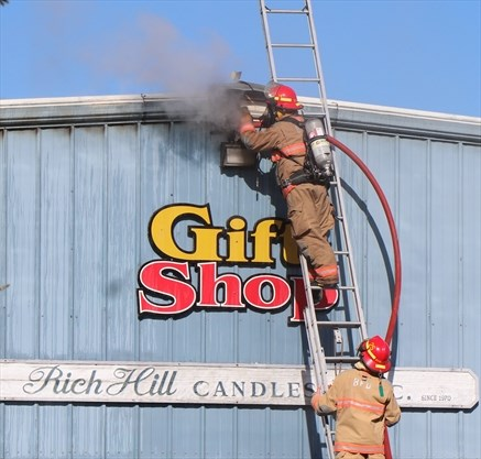Second time Bracebridge Rich Hill Candles hit by fire in 50